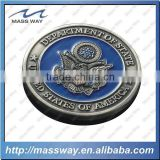 promotion custom antique pewter alloy USA 3D old coin
