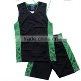 basketball jersey green color