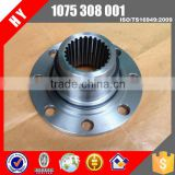 transmission output stainless steel flange 1075308001 for 31- 50 Seats coach bus