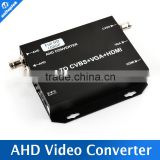 Signal to HDMI/VGA/BNC With 720P/80P 25/30Hz US/EU/UK/AU Plug Black HD AHD Video Converter