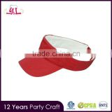 2016 New Fashiion Designer Cheap Sun Red Visor Hat For Women                                                                         Quality Choice