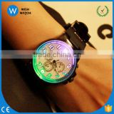 LED002/Creative Colorful Light LED Lovers normal Sports watch men and women couple watch smart electronics casual watch