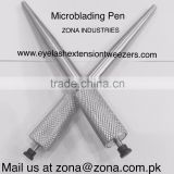 Aluminum Eyebrow Microblading Tools /3D Tattoo Eyebrow Pen /microblade manual Pen / Get Custom Tools By ZONA- PAKISTAN