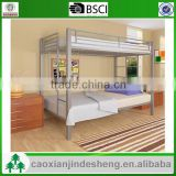 Baby use Bedroom Furniture metal twin over twin bunk bed - silver TT-05