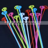 sticks and stick holders/cups balloon accessories