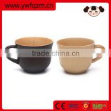 High quality classical design bamboo fiber coffee cup