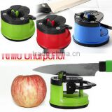 Kitchen Safety Knife Sharpener WithSuction Pad / Mini knife sharpener / knife blade sharpener