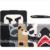 BUBM Briefcase Style felt material laptop sleeve case for gifts , for 13 Inch Macbook Air /Notebook sleeve with accessory pocket