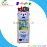 2016 New Children games Little bear toy crane machine coin operated mini crane machine for sale