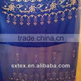 The modern embroider voile curtain sheer fabric for window