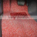 100%PVC transparent coir car mat