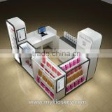 White color phone cases kiosk, phone cases kiosk used in mall for sale