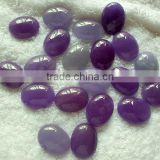 Purple jade stone oval cabochon,ring setting stone