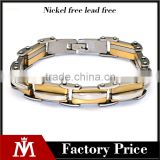 Yiwu Factory Wholesale Punk Stainless Steel Biker Bracelet Bicycle Chain Cuff Bangle Jewelry