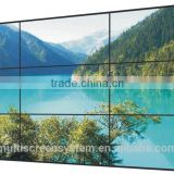 46 Inch LCD video wall Samsung/LG brand super narrow bezel monitor display for live broadcast