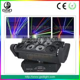 Pro Excellent Christmas Dmx512 Rotation Colorful stage spider beam laser moving head light,christmas projector laser light show