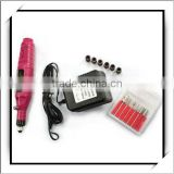 Hot! 6 Bit Acrylic UV GEL+ Electric Nail Drill -H2011
