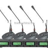 High Quality 4 Channel Receiver, UHF Wireless Professional Microphone For 300 Meters Long