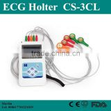 CE&ISO Hot Sale 24 Hours Medical Device Cardiac Heart Holter Monitor 3 /12 Channel ECG Holter Recorder with Free Software-Shelly
