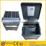 automatic solar fishing cage feeder for aquaculture