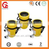 Double Acting Relief Valves Hollow Plunger Compact Hydraulic Jack