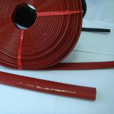 Hose guard heat protection fiberglass sleeve with silicone coating