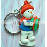 cute plastic toy animal doll snowman for children kids' doll birthday and business gift