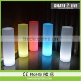battery powered led bar lamp cylinder table lamp led cylinder color changing