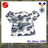 Blue Camouflage US army uniform military BDU 2 pcs uniform