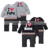 new design long sleeve terry baby romper