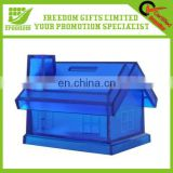 Cheap Good Quality Plastic Promotional Coin Bank