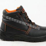 high cut best New fashionable genuine leather safety boots safety shoes with steel toe