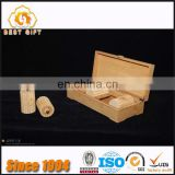 Guangdong Factory Good Quality Quick Delivery OEM Wooden Bamboo Packing Box for Tea