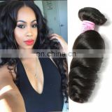 8A virgin hair loose wave wholesale hair bundle hair