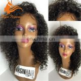 kinky curly lace front wig with natural hairline classy lace front wigs afro kinky