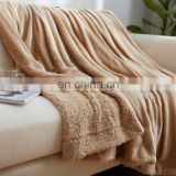 china supplier warm super soft polyester flannel polar fleece blanket