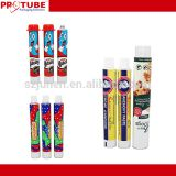 Collapsible Empty Food Aluminum Packaging Tube