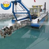 12INCH Low price sand dredger river pontoon dredger for sale
