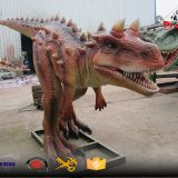 medium size animatronic dinosaure simulation outdoor decoration model