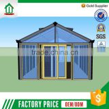 Highest Quality New Pattern Oem/Odm Aluminum Garden House Factory Sale