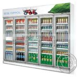 OP-A404 Large Capacity Glass Doors Supermarket Fridge                                                                         Quality Choice