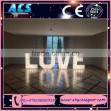 ACS chinese decorative letter , metal LED love letters