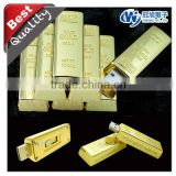 Gold style USB flash drive with competitive price gift item with Custom company logo best electronic christmas gifts 2014