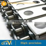 INquiry about Gervi conveyor chain with standard attachment