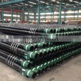 API 5CT seamless steel pipe / casing pipes / line pipes for oil and gas well made in china