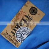 China manufacture top grade clothing hang tag plastic string