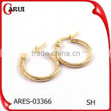 gold plated jewelry cheap price stainless steel jewelry earrings