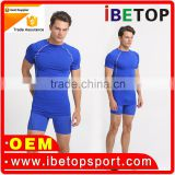 2016 new arrivel hotsale factory price sportswear lycra fabric for gym wear