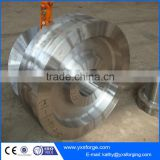 50t steel furnace ladle car wheels with 2-axle and 4-wheel supplier