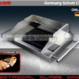 Germany Schott Ceran bbq grill with touch control pannel